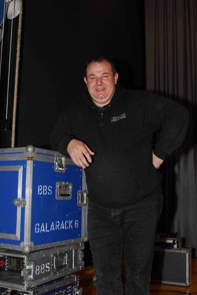 Die Profis von Brandenburger Sound bei der BLiZ Info-Veranstaltung in Zeuthen